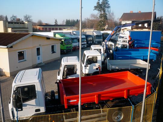 Truck partner spol. s r.o. - nákladní auta Avia, Iveco, Man, Daf, Renault